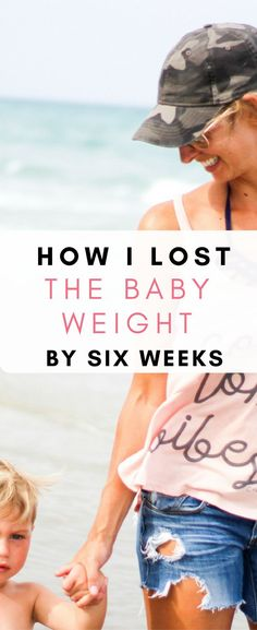 Seriously has some great tips to lose the baby weight fast. It is possible to lose the baby weight by six weeks!