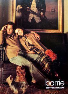 tartan, Scottish knitwear