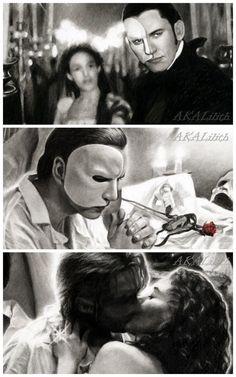 Phantom of the Opera - Details by akaLilith.deviantart.com
