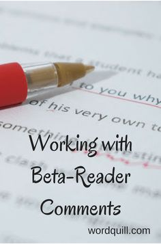I've always enjoyed beta-reading, but this month I got to experience the other side of it–being beta-read! (Er, my book being beta-read, but it's pretty much the same.)  I had gathered my team and sent out numerous emails to get my metaphorical ducks in a row. Document access? Check. Email detailing what I …