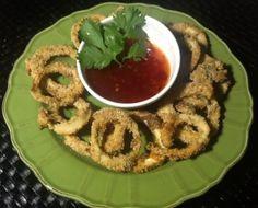 Vegetarian Calamari Rings!