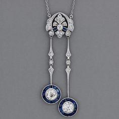 Art Deco Jewelry - new season bijouterie Bijoux Art Nouveau, Art Nouveau Jewelry, Jewelry Art, Antique Jewelry, Vintage Jewelry, Jewelry Accessories, Fine Jewelry, Jewelry Necklaces, Jewelry Design