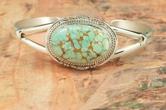 Number 8 Mine Turquoise. Learn about it here: http://blog.treasuresofthesouthwest.com