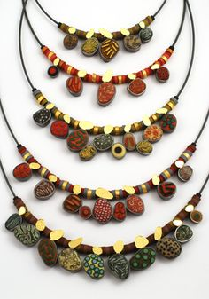 So beautiful, ford forlano necklaces.... So much more than poly clay passion, just love it!