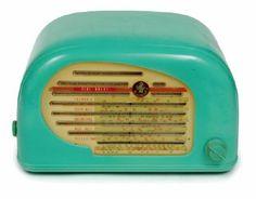 Peter Pan style line 'Snail' radio, circa 1949 Australia