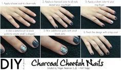 Add some spunk to your style with this DIY Charcoal Cheetah Design! Thank you to Megan A. from #LJIC - Fort Dodge for the great tips and for participating in this week's #LjicTuesTorial!  www.facebook.com/lajamesinternational