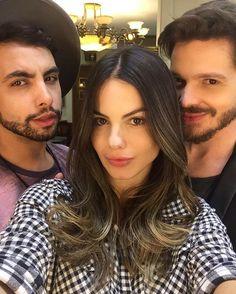 My boys ⚡️ Corte do @tiparente que eu amo e sempre arrasa  e cor do @costatto que eu conheci hj e ja avisei que ele vai ter q me aturar pq ameeeeeei!!!!! 👊🏼