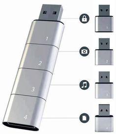 AMOEBA MODULAR USB CONCEPT !!! AMAZING