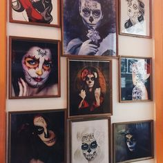 By embracing death we can really enjoy life - Santa Muerte  . . . . . #painting #art #santamuerte #wallart