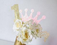 Princess Party Decorations  Princess Baby Shower  por PoshSoiree