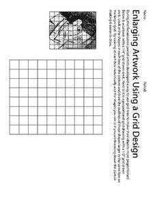 Gridding Artwork Lesson - Jewels - TeachersPayTeachers.com