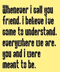 Kenny Loggins - Whenever I Call You Friend -song lyrics, music lyrics, song quotes