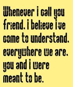 Calling All Friends from Low Stars lyrics - AlLyrics.net