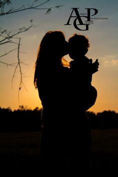 Family Photography Mother and son sunset photo