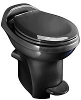 Thetford RV Toilet Aqua Magic Style Plus High Profile With Water Saver, Black, 34443