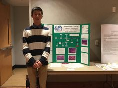 Gaston Day School senior Vincent Liu won first place in the Technology and Engineering category at the Gaston County Science and Engineering Fairon