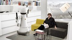 Care-O-Bot 4 may be your future robot servant Robot 2017, Domestic Robots, Japanese Robot, Phoenix Design, Welcome To The Future, Medical Care, Good Job, Smart Home, Science And Technology