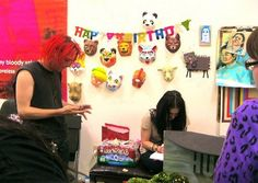 Gerard planning Bandit's Birthday Party!