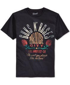 New World Men's Guns N' Roses Graphic-Print T-Shirt