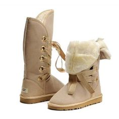 …♥♥… UGG Roxy Tall Boots 5818 Sand ,❤❤♥ For sale now.check it out! Ugg Boots Sale, Ugg Boots Cheap, Tall Uggs, Tall Boots, Snow Boots, Fur Boots, Winter Boots, Discount Boots, Shopping