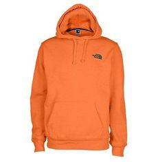 f2b39fa16b8 North Face Emb Logo Pullover Hoodie Mens A8Q2-Z9X Burnished Orange Hoody  Size L Hoody