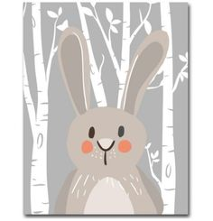 Rabbit Fox Bear Animal Nursery Posters and Prints Wall Art Canvas Painting Decorative Picture Nordic Style Kids Decoration Large Canvas Art, Canvas Art Prints, Canvas Wall Art, Nursery Canvas, Nursery Paintings, Nursery Pictures, Print Pictures, Wall Pictures, Canvas Poster