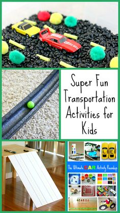 Fun Transportation Activities for Kids from Buggy and Buddy