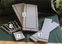 Mold Assembly : ForCraftsSake.com, Soap Molds, Soap Cutters, Wood Crates, Displays