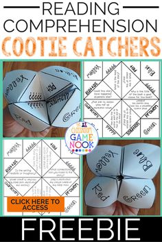 I mean...why WOULDN'T you use cootie catchers in your reading block? It makes perfect sense. Ok - remember last week how I was talk...