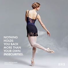 Mid-day #Motivation: Nothing holds you back more than your own insecurities…
