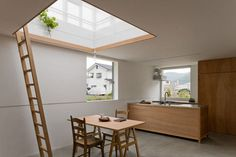 Japanese House Inspired by Greenhouses by Yo Shimada - Design Milk Interior Architecture, Interior And Exterior, Interior Design, Japan Architecture, Japanese Interior, Japanese House, Japanese Style, Prefab, Building Design