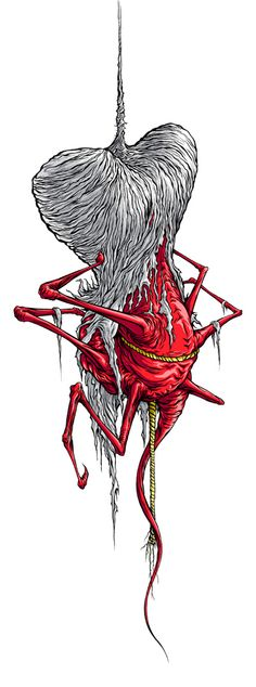 Evolution of The Used logo by Alex Pardee