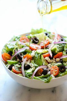 Greek Salad - Damn Delicious