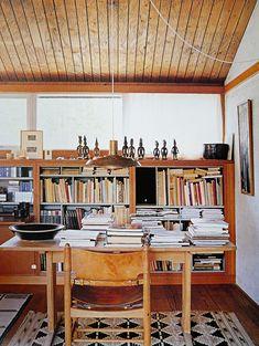 Mogensen house, office area.