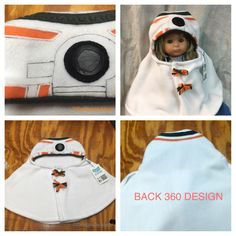 A personal favorite from my Etsy shop https://www.etsy.com/listing/484114841/bb8-andriod-baby-capelet-infant-costume #babycostume #starwars # BB8 #starwarscostume #BB8costume #babyhalloweencostume #cosplay #starwarscosplay