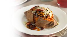 Sweet jacket potatoes with vegetable chilli - Love Life - Waitrose TV