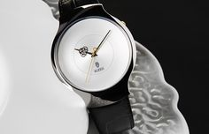 Dressed - Limited Edition Watch by Marcel Wanders | Design in Vogue http://www.designinvogue.com/dressed-limited-edition-watch-by-marcel-wanders/