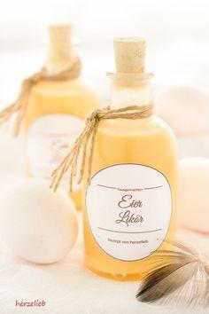 Recipe for homemade Eggnog // Rezept für selbstgemachten Eierlikör