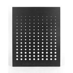 Plaque de protection murale Simetria, noir, L.80 x H.120 cm   Leroy Merlin