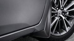 Genuine Toyota Corolla Mudguard Set PU060-12115-P1. Genuine Toyota Accessories.