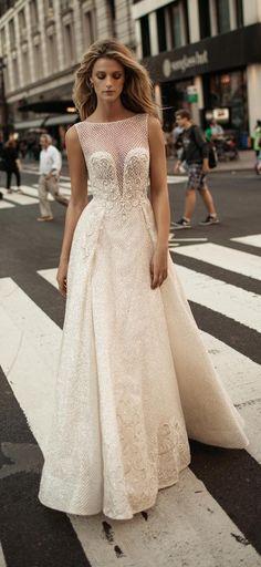Wedding Dress by Berta Bridal Fall 2017 - Belle The Magazine