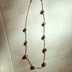 "Ann Taylor Loft long Necklace Gorgeous Ann Taylor Loft Necklace that is 38"" long. It has never been worn!! It's in excellent condition. LOFT Jewelry Necklaces"