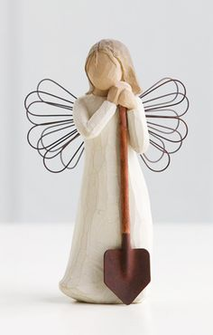 Angel of the Garden by Willow Tree - my favorite one!