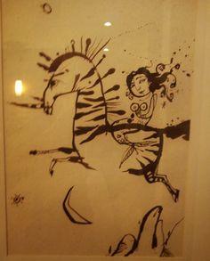 mermaid on a zebra _ Piet Grobler