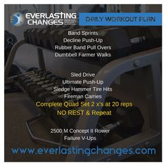 We can customize a workout program specific to your goals! Just contact us (704) 412-8719 or email everlastingchanges@gmail.com to Get Started!