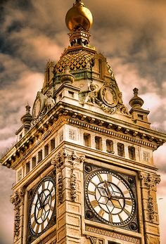 Brighton Clock Tower HDR photo