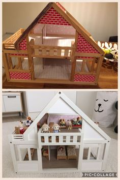 """AI / A complete """"renovation"""" of an old doll's house."""