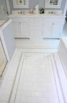 Bathroom Floor Tile Design | Home Design Ideas | For The Home | Pinterest |  Tile Design, Floor Design And Tile Floor Designs Part 85