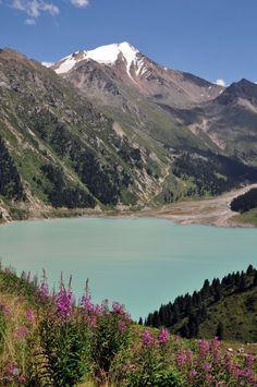 Big Almaty Lake in Summer