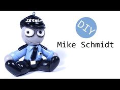Five Nights at Freddy's Mike Schmidt Plush Style Polymer Clay Tutorial